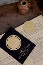 Artcadia Celestial Round Brass Bookmark