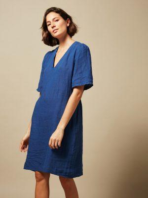 Hartford Neptune Ramble Linen Dress 1