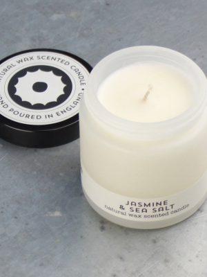 Brownstone Jasmine and Sea Salt Travel Candle