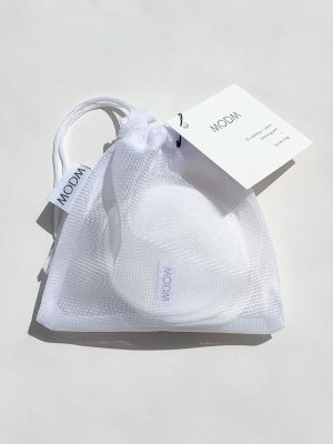 MODM Bamboo and Cotton cleansing pads and washbag