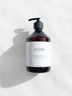 MODM Mandarin and Vetiver hand and body wash