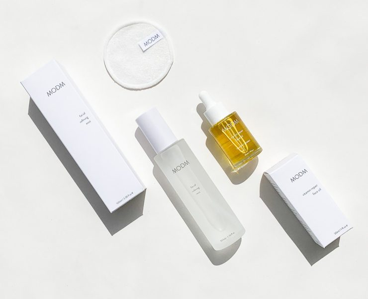 MODM Natural Skincare Brand Overview Image