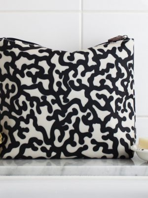 Tall Wash bag Coral Reef Design 1