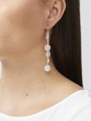 Ashiana Alena Silver Coin Earrings