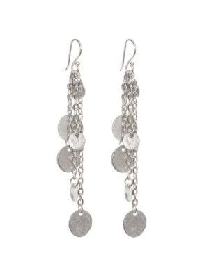 Ashiana Alena silver Earrings