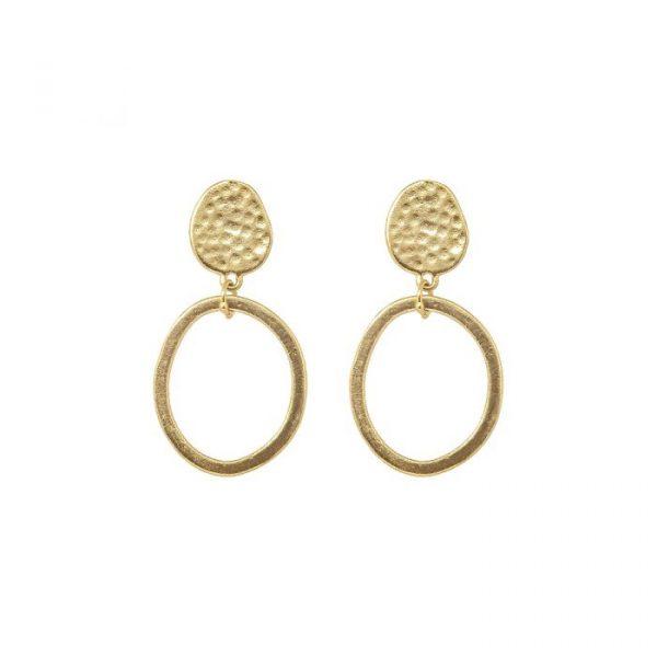 Ashiana Villar gold earrings