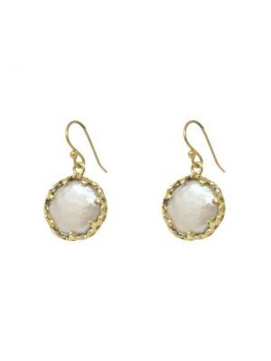 Ashiana Petit St Vincent Pearl Earrings