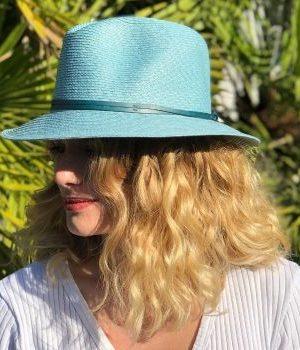 Travaux en Cours Fedora Hat Celestial Blue