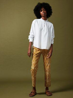 Hartford Cotton Charlotte Shirt White
