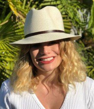 Travaux en Cours Fedora Hat Natural