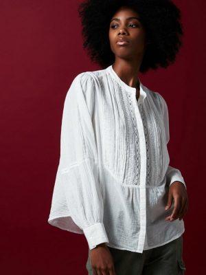 Hartford Celia Shirt White 1