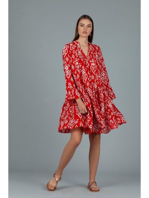 AWDream Lobester Dress Red 220-134160-401_2.Etta_Leather_Jeans_Regular_Blue