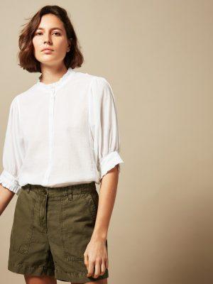 Hartford Tanju T-shirt White 1