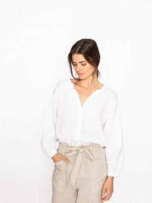Jeff Lou linen blouse 1