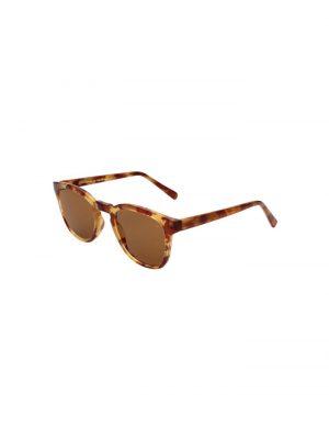 A.Kjaerbede Bate Sunglasses Demi Light Brown Tortoise