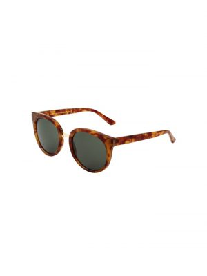A.Kjaerbede Gray Sunglasses Demi Light Brown Tortoise