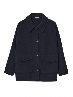 Yerse Navy Ines Jacket with Pockets