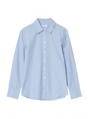 Yerse Classic Cotton Shirt Sky Blue