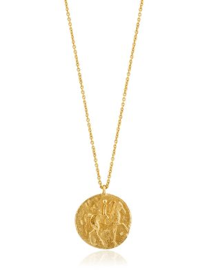 Ania Haie Gold Roman Rider Necklace 1