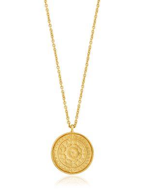 Ania Haie Gold Verginia Sun Necklace 1