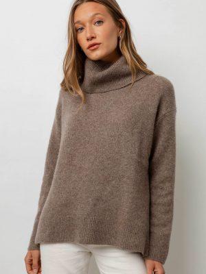 Rails Imogen Cashmere Blend Sweater Hazelnut