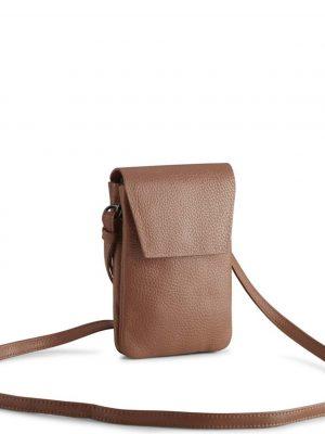 Mark Berg Mara Crossbody Grain Leather Bag Hazel