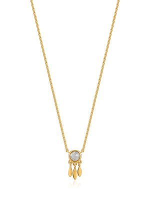Ania Haie Gold Midnight Fringe Necklace 1