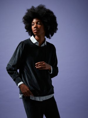 Hartford Takoua Fleece Sweater 1