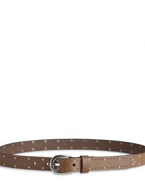 Markberg Noralina Leather Belt Caramel