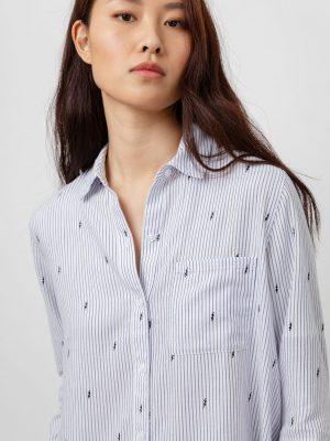 Rails Rocsi Flocked Lightning Pinstripe Shirt