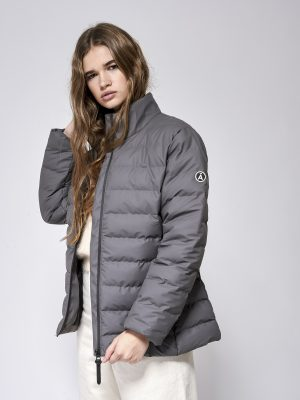 Tanta Krople Puffer Jacket Lava Grey