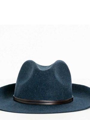 Travaux en Cours Wool Fedora Hat Skyline