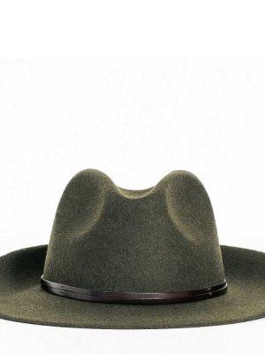 Travaux en Cours Wool Fedora Hat Loden